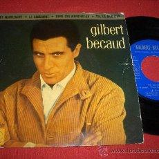"""Discos de vinilo: GILBERT BECAUD ET MAINTENANT / LE CONDAMNE ..+2 7"""" EP 1962 LA VOZ DE SU AMO EDICION ESPAÑOLA. Lote 28606779"""
