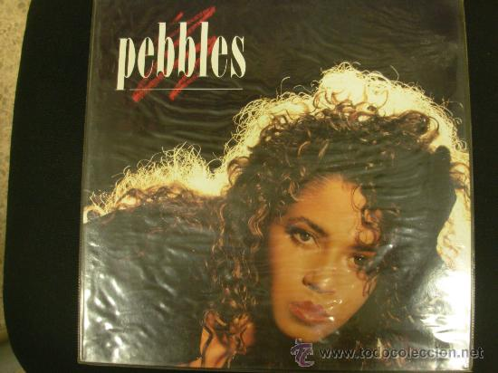 PEBBLES. MCA RECORDS 1987. LP (Música - Discos - LP Vinilo - Funk, Soul y Black Music)
