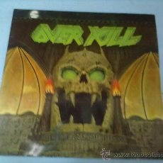 Discos de vinilo: OVERKILL-LP-YEARS OF DEAY 1989. Lote 28615630
