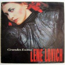 Discos de vinilo: LENE LOVICH – GRANDES EXITOS – LP SPAIN 1984 – STIFF E-30.303. Lote 28625601