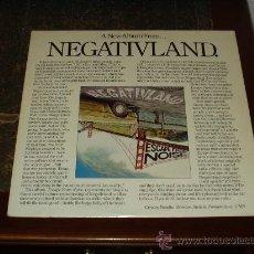Discos de vinilo: NEGATIVLAND LP ESCAPE FROM NOISE 4º ALBUM DEL GRUPO EXPERIMENTAL. Lote 54974847