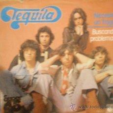 Discos de vinilo: TEQUILA: NECESITO UN TRAGO MAXI-SINGLE 45RPM (NOVOLA,1978). Lote 28646681