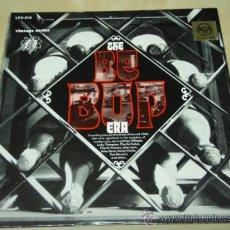 Discos de vinilo: THE BE-BOP ERA 'DIZZY GILLESPIE, COLEMAN HAWKINS, ILLINOIS JACQUET, NENNY CLARKE ... USA-1965 LP. Lote 28634580