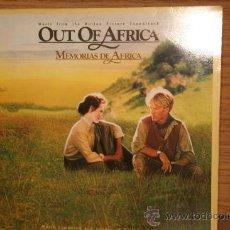 Discos de vinilo: MEMORIAS DE ÁFRICA. JOHN BARRY. Lote 113738930