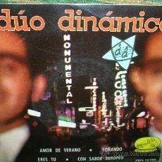 Discos de vinilo: DUO DINAMICO EP - AMOR DE VERANO - LA VOZ DE SU AMO 1963.. Lote 28721703