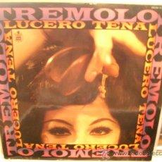 Discos de vinilo: LUCERO TENA: TREMOLO (HISPAVOX,1968) FIRMADO POR LUCERO TENA. Lote 28646504