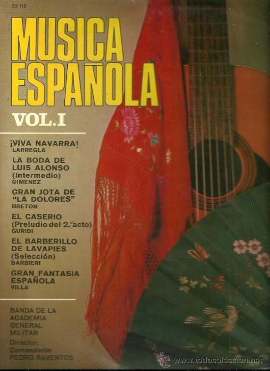BANDA DE LA ACADEMIA GENERAL MILITAR LP SELLO BELTER AÑO 1961 (Música - Discos - LP Vinilo - Otros estilos)
