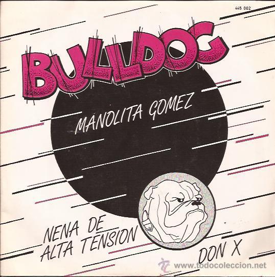 EP-BULLDOG-MANOLITA GOMEZ-1982-NEO ROCKABILLY- (Música - Discos de Vinilo - EPs - Rock & Roll)