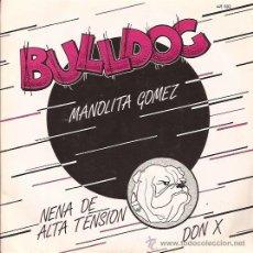 Discos de vinilo: EP-BULLDOG-MANOLITA GOMEZ-1982-NEO ROCKABILLY-. Lote 28651011