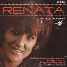 Discos de vinilo: EP-RENATA-MARFER 575-DOWNTOWN-1965. Lote 28651104