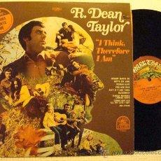 Discos de vinilo: R. DEAN TAYLOR - '' I THINK, THEREFORE I AM '' LP ORIGINAL USA. Lote 28655555