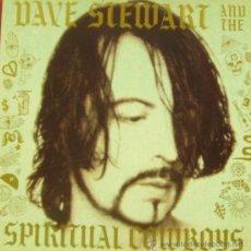 Disques de vinyle: DAVE STEWART AND THE SPIRITUAL COWBOYS-MISMO TITULO 1990 LP VINILO SPAIN. Lote 28660597