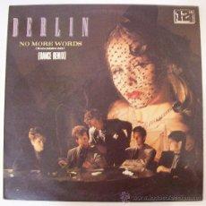 Discos de vinilo: MAXI DE BERLIN NO MORE WORDS. Lote 28660934