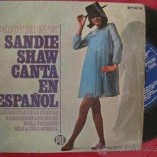 Discos de vinilo: SANDIE SHAW - MARIONETAS EN LA CUERDA EN ESPAÑOL EUROVISION 1967 UK. Lote 28661840