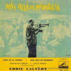 Discos de vinilo: EDDIE CALVERT - JUNGLE MOON - EP ESPAÑOL DE VINILO RARISIMO. Lote 28662774