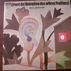 Discos de vinilo: LP(FRONT DE LIBERATION DES ARBRES FRUITIERS ) JULOS BEAUCARNE 1974-DOBLE PORTADA LETRA CANCIONES. Lote 28664176