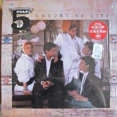 Discos de vinilo: LP - LUXURY OF LIFE - FIVE STAR - EDICION INGLESA, RCA RECORDS 1985. Lote 28664371