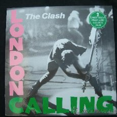 Discos de vinilo: LP DOBLE THE CLASH // LONDON CALLING. Lote 28664897