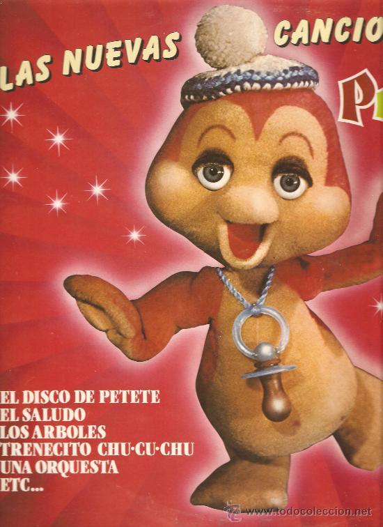 LP LAS NUEVAS CANCIONES DE PETETE (Música - Discos - LPs Vinilo - Música Infantil)