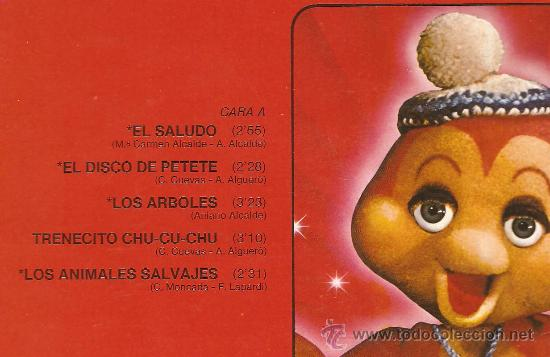 Discos de vinilo: LP LAS NUEVAS CANCIONES DE PETETE - Foto 2 - 28666929