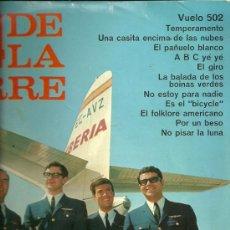 Discos de vinilo: LOS 4 DE LA TORRE LP SELLO BELTER AÑO 1966.. Lote 28668370