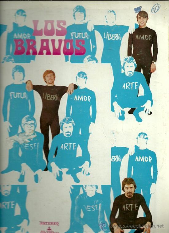 LOS BRAVOS LP SELLO ALHAMBRA EDITADO EN USA.. (Música - Discos - LP Vinilo - Grupos Españoles 50 y 60)