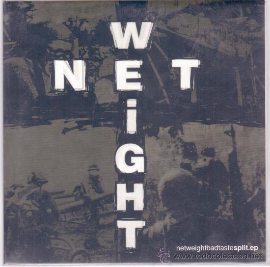 NET WEIGHT-BAD TASTE (SPLIT EP) (Música - Discos de Vinilo - EPs - Grupos Españoles de los 90 a la actualidad)