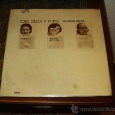 Discos de vinilo: TOQUINHO,MARILIA MEDALHA,VINICIUS LP COMO DIZIA O POETA MUSICA NOVA. Lote 28689181