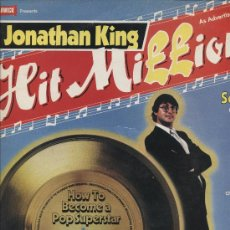 Discos de vinilo: JONATHAN KING - HIT MILLIONAIRE . Lote 28703343