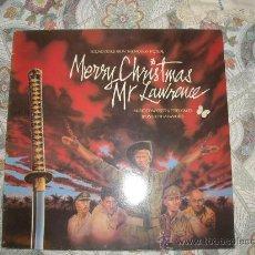Discos de vinilo: FELIZ NAVIDAD MR.LAWRENCE (MERRY CHRISTMAS MR.LAWRENCE) DAVID BOWIE BANDA SONA DISCO LP. Lote 22829034