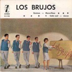 Discos de vinilo: LOS BRUJOS - QUISIERA + 3 (EP DE 4 CANCIONES) ZAFIRO 1962 - VG++/VG++. Lote 28710839