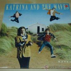 Discos de vinilo: KATRINA AND THE WAVES ' WAVES ' ENGLAND-1986 LP33 CAPITOL RECORDS. Lote 28715827