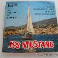 Discos de vinilo: LOS MUSTANG - LA VIDA ES ASI + 3 EP 1966. Lote 28720518