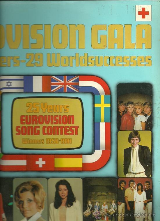 EUROVISION GALA LP DOBLE (2 DISCOS) EDITA DO EN ESPAÑA AÑO 1981 (Música - Discos - LP Vinilo - Festival de Eurovisión)