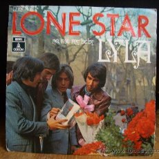 Discos de vinilo: LONE STAR - SINGLE - NO NOT MY BABY/LYLA (EMI 1970). Lote 28723726
