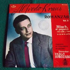 Discos de vinilo: ALFREDO KRAUS-ROMANZAS VOL 2-BLACK EL PAYASO-ENTRE SEVILLA Y TRIANA-LA ISLA ...-HISPAVOX-1959.. Lote 28761979