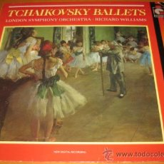 Discos de vinilo: TCHAIKOVSKY BALLETS / PETER - LONDON SYMPHONY ORCHESTRA - RICHARD WILLIAMS - LP - RICHARD WILLIAMS. Lote 28732573