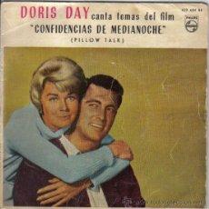 """Discos de vinilo: DORIS DAY CANTA TEMAS DEL FILM """"CONFIDENCIAS DE MEDIANOCHE"""". PHILIPS 429 684 BE. Lote 28734381"""