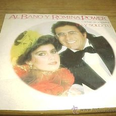 Disques de vinyle: ALBANO Y ROMINA POWER. CANTAN EN ESPAÑOL. TU Y SOLO TU. DISCO PROMOCIONAL. EPIC 1983. IMPECABLE. Lote 30697797