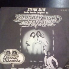 Dischi in vinile: BEE GEES - STAYIN´ALIVE ( 1977 ). Lote 28735520