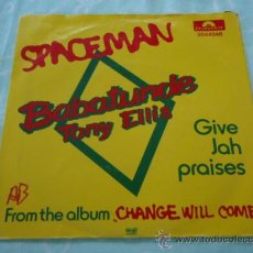 Discos de vinilo: BABATUNDE TONY ELLIS ( SPACEMAN - GIVE JAH PRAISES ) 1981 SINGLE45 POLYDOR. Lote 28737766