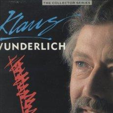 Discos de vinilo: KLAUS WUNDERLICH - THE COLLECTOR SERIES - THE COLLECTION VOLUMEN 2 (DISCO DOBLE) . Lote 28738035