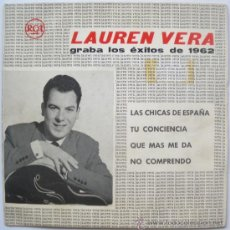 Discos de vinilo: LAUREN VERA EP SPAIN 1961 PROMO - LAS CHICAS DE ESPAÑA - RCA LV-2. Lote 28849771