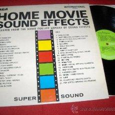 Discos de vinilo: HOME MOVIE SOUND EFFECTS LP 1970 UK LIBRARY EFFECTS EDICION ESPAÑOLA. Lote 28743397