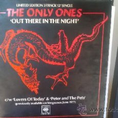 Discos de vinilo: ONLY ONES. OUT THERE IN THE NIGHT.. Lote 28744449