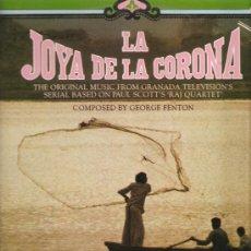 Discos de vinilo: LP BSO LA JOYA DE LA CORONA - GEORGE FENTON . Lote 28754859