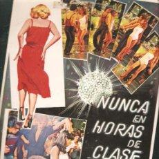 Discos de vinilo: LP BSO NUNCA EN HORAS DE CLASE - NEW TROLLS. Lote 237306520