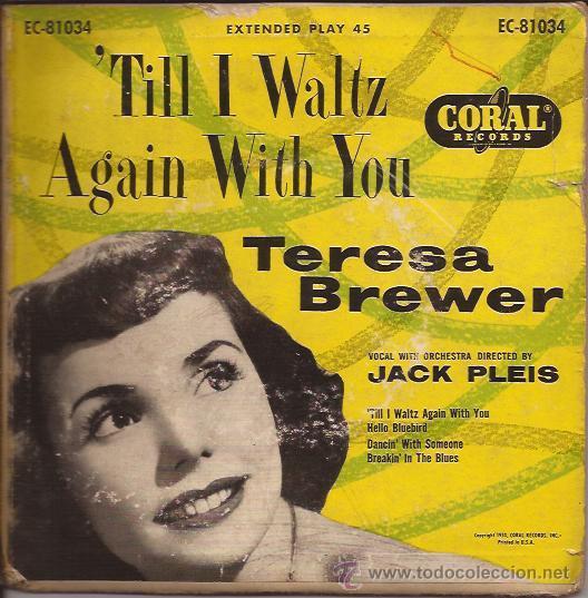 EP-TERESA BREWER-CORAL 81034-USA-1953 (Música - Discos de Vinilo - EPs - Rock & Roll)