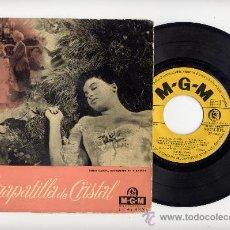 Discos de vinilo: DAVID ROSE Y SU ORQUESTA. EP VINILO 45 RPM. LA ZAPATILLA DE CRISTAL.LESLIE CARON. EDICION ESPAÑOLA. Lote 28765217
