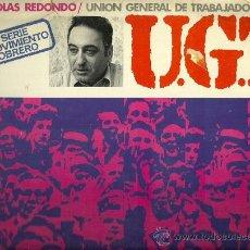 Discos de vinilo: EDUARDO SOTILLOS ENTREVISTA A NICOLAS REDONDO LP SELLO MEDITERRANEO AÑO 1977 . Lote 28766928